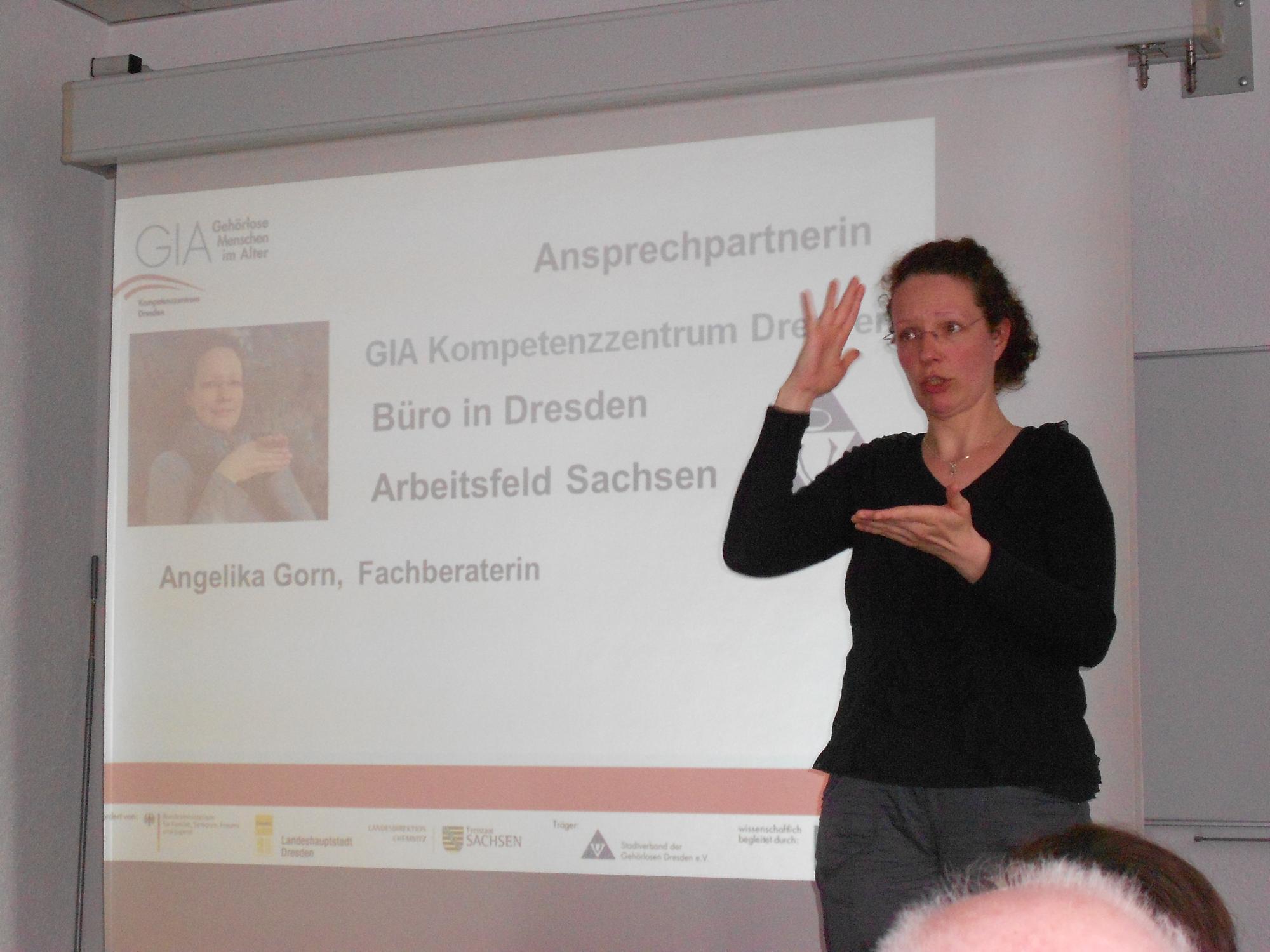 Frau Gorn (Fachberaterin im GIA Kompetenzzentrum Dresden)
