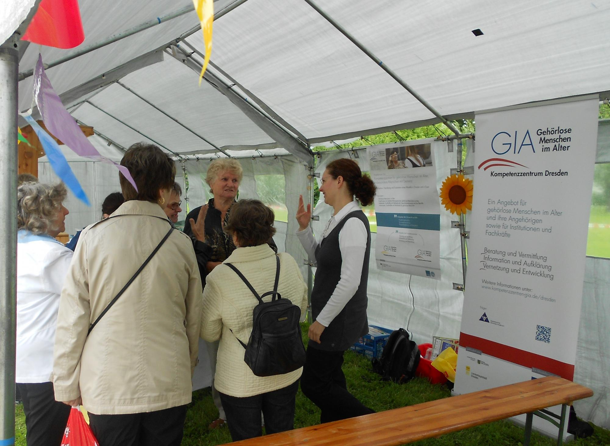GIA Informationsstand 29.06.13