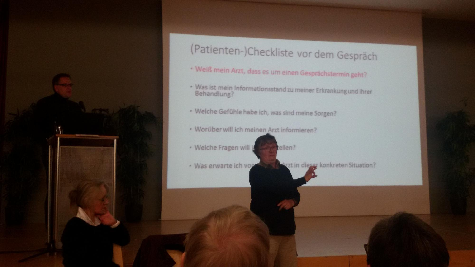 Dr. Dreyhaupt erzählt, was für Patienten wichtig ist.