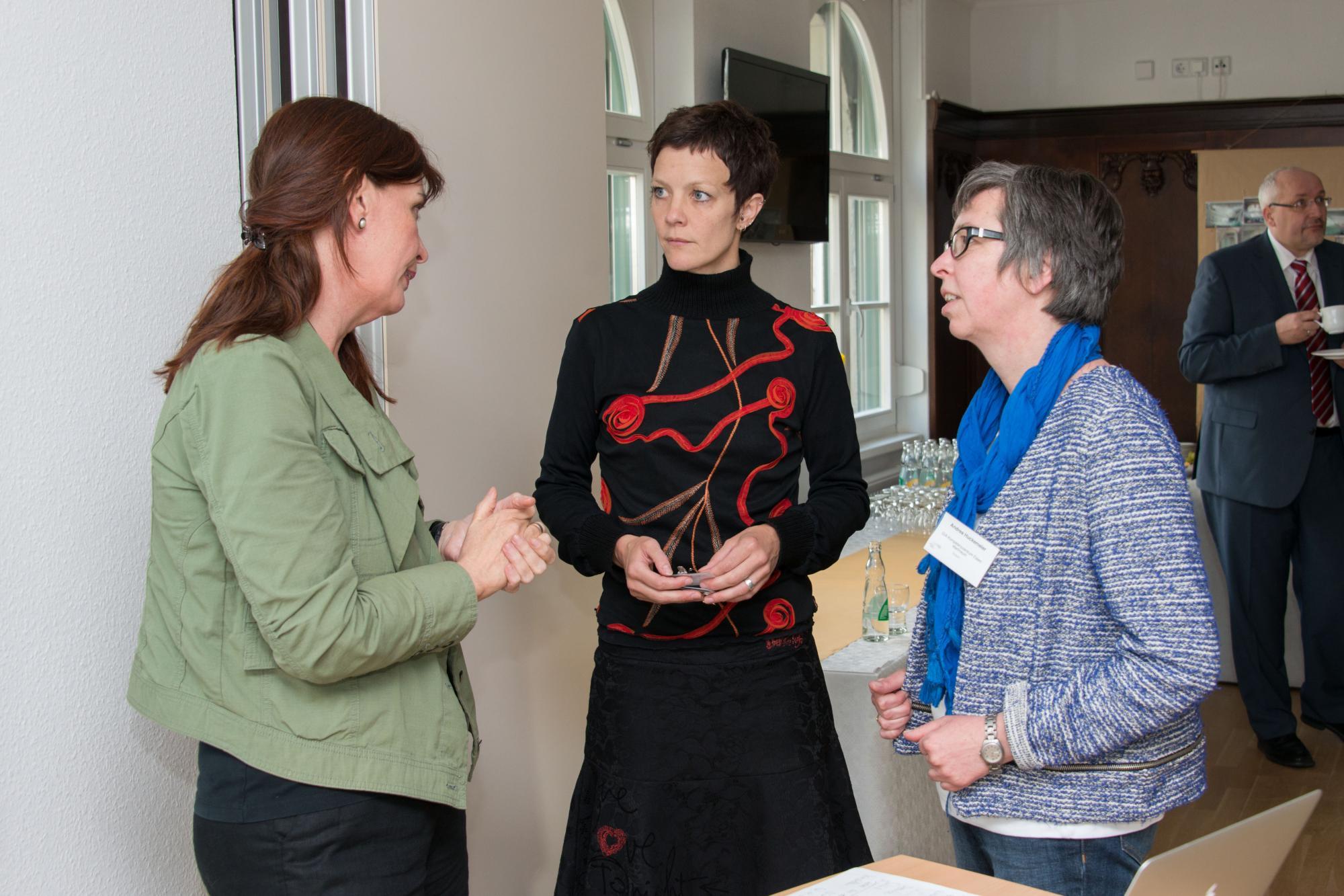 Anne Gelhardt, Anke Dieberg und Andrea Huckemeier